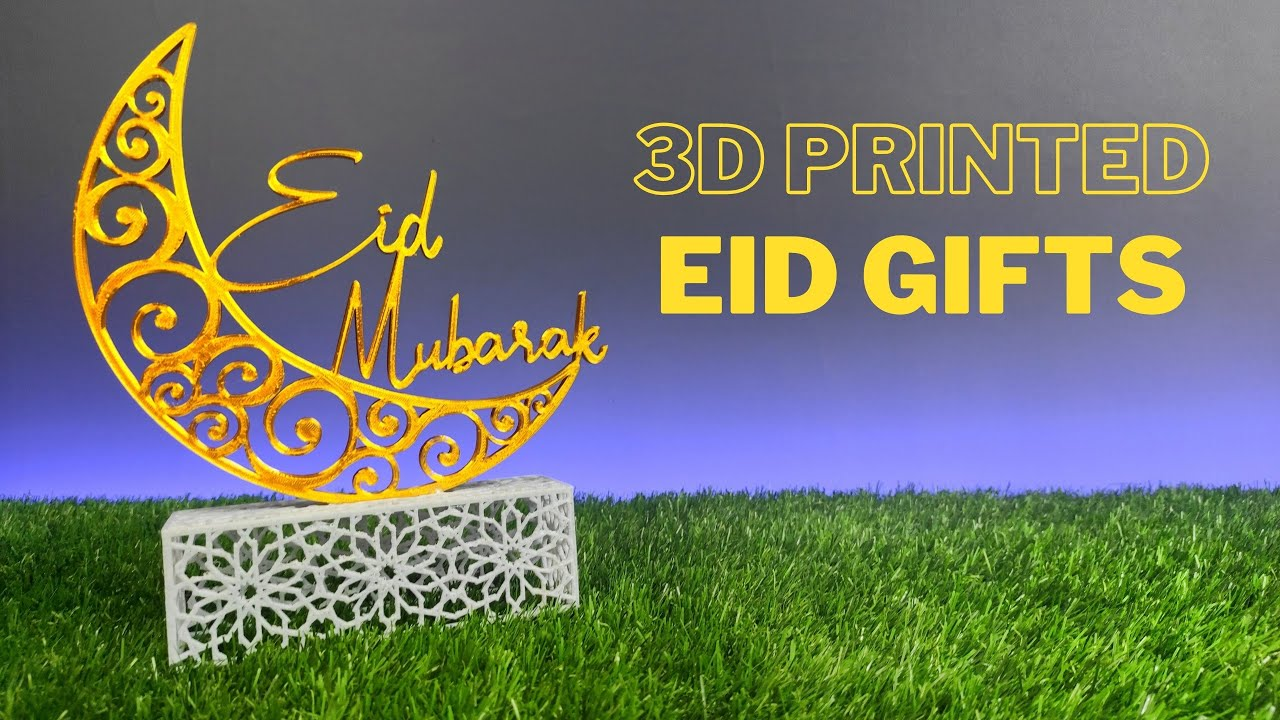3D Printed Gifts for Eid // Easy Gifts with 3D Printer
