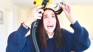 CUTTING MY HAIR WITH A FREAKING MACHINE