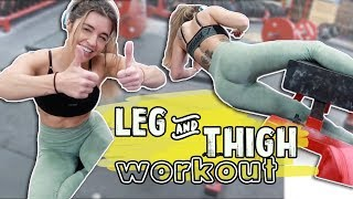 Legs, Hips, n Thighs Workout | 30 Day Challenge