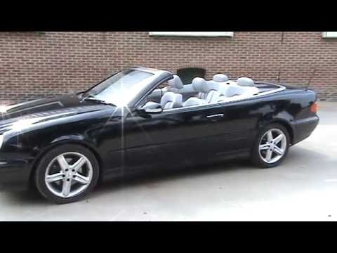 2001 mercedes clk 230 convertible youtube. Black Bedroom Furniture Sets. Home Design Ideas