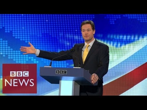 Europe Debate: Nick Clegg opening statement - BBC News