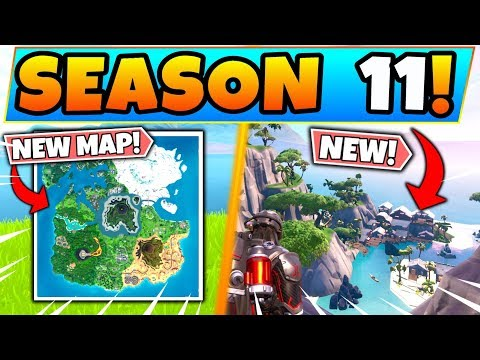 *NEW* Fortnite SEASON 11 MAP REVEALED! (Fortnite Battle Royale Update)