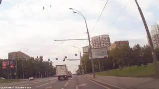 Смотреть видео Дтп 14.07.2018 москва онлайн