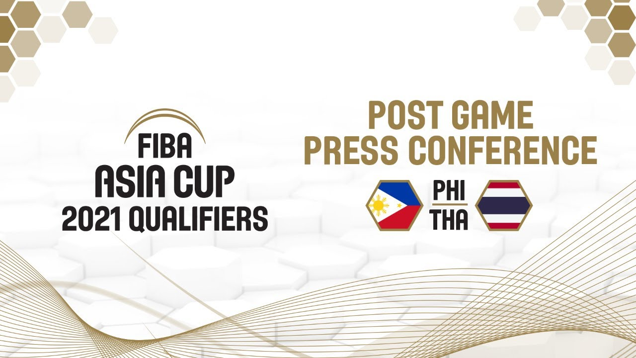 Philippines v Thailand - Press Conference