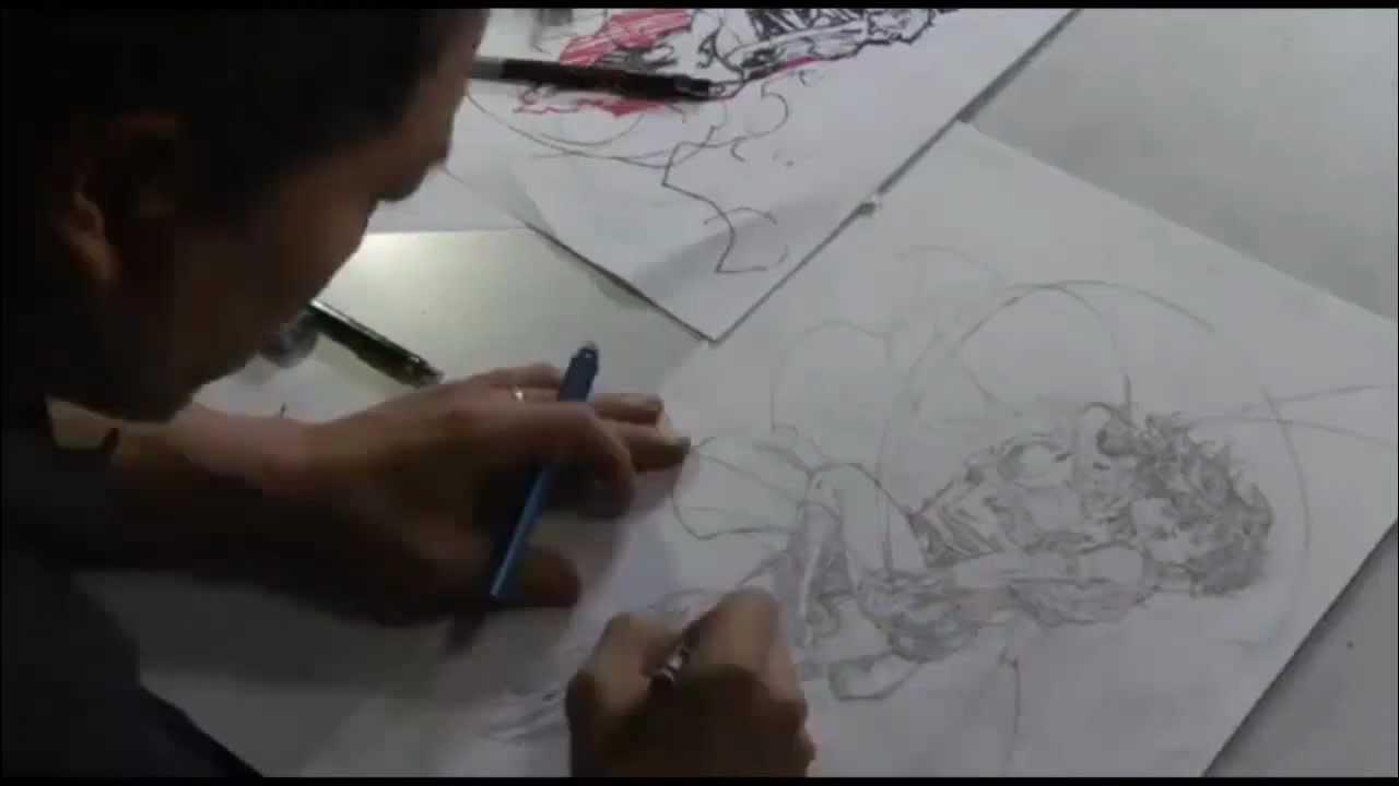 Wonder Woman Jim Lee New 52 Jim Lee Speed Drawing ...