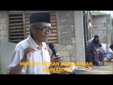 STREET DAWAH IN BASILAN LUMABAS AT MAGPAHAYAG WITH THE MUFTI