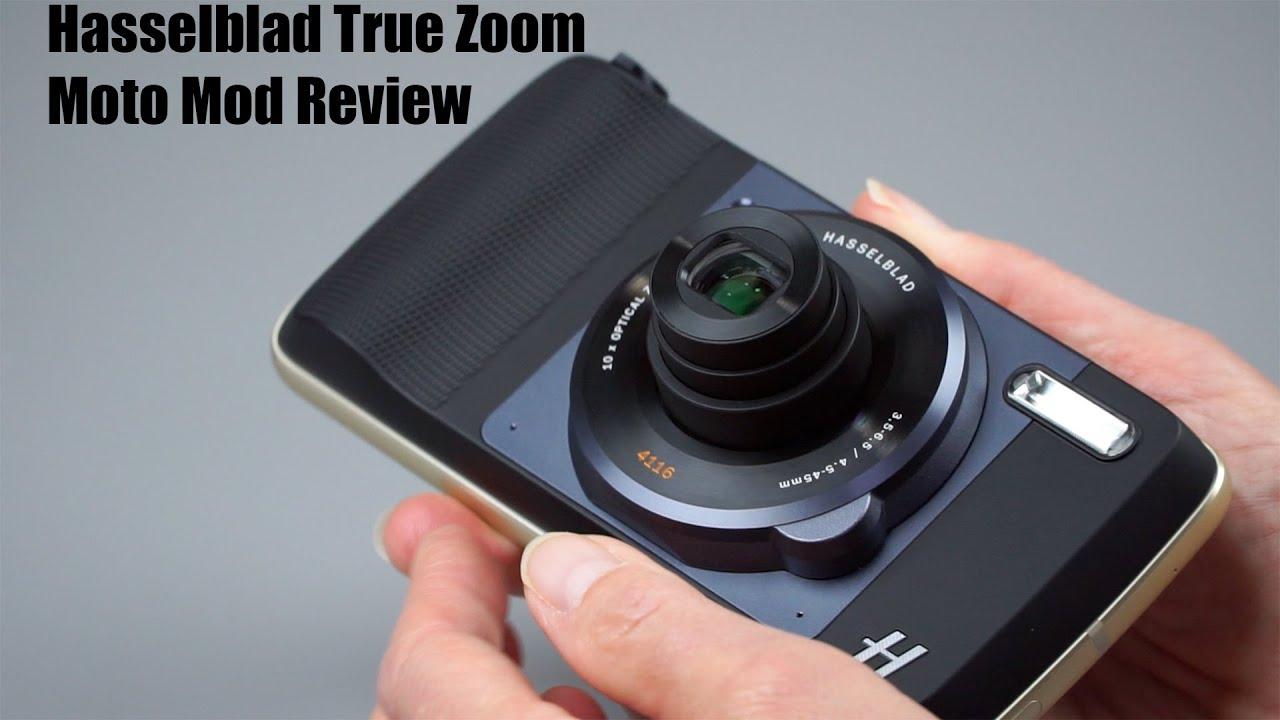 HasselBlad True Zoom Moto Mod Review