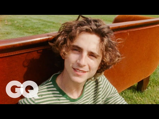 3 Minutes of Timothée Chalamet Wandering Around Woodstock   GQ