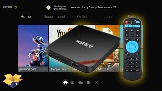 NEXBOX A95X ANDROID TV BOX - UNBOXING