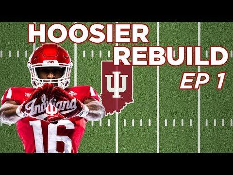 NCAA Football 14 Dynasty | Indiana Hoosiers - REBUILDING THE HOOSIERS EP 1