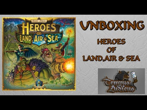 Heroes of Land,Sea & Air (Unboxing) TL