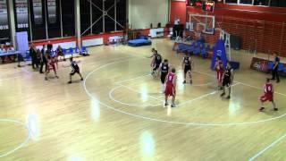ALK Wro-Basket, 29. edycja. Marek Dzieciniak (Tako) przechwyt i kontra