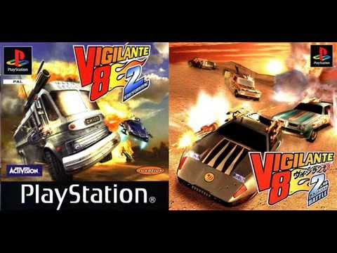 VIGILANTE 8 2ND SECOND OFFENSE   FULL SOUNDTRACK PSX ORYGINAL