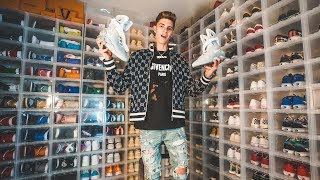 The Biggest Teenage Sneakerhead!