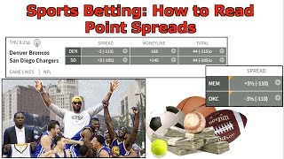 how to read a betting spread