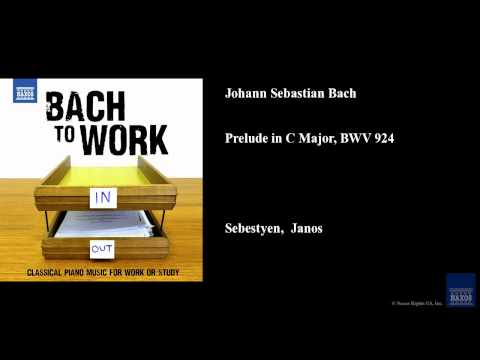 Johann Sebastian Bach, Prelude in C Major, BWV 924