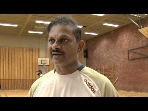 Lalchand Rajput teaches Norwegians to play cricket