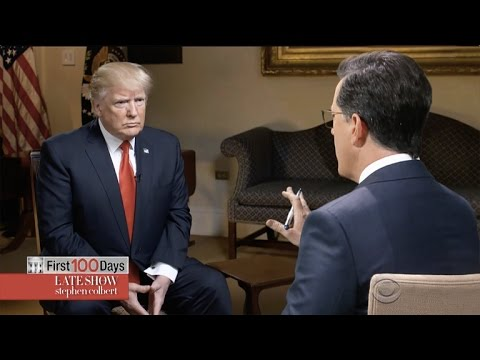 Thumbnail: Stephen Colbert Goes One-On-One With Trump