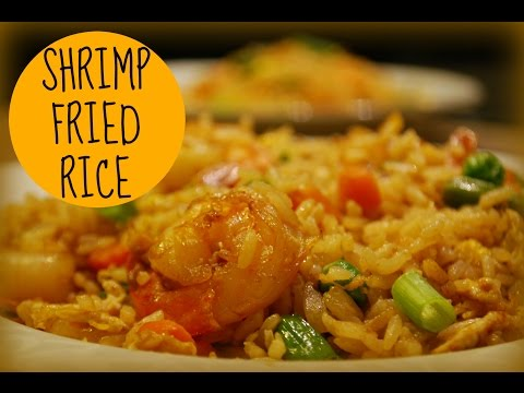 Shrimp Fried Rice Recipe (Thai Inspired)