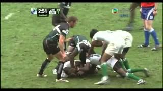 Hong Kong IRB Rugby Sevens 2009 Zimbabwe VS Sri Lanka