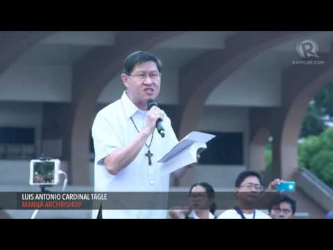 Tagle calls for active nonviolence amid killings