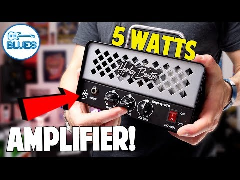 Harley Benton Mighty 5TH Amplifier Head Review into a Marshall 2x12 Cabinet