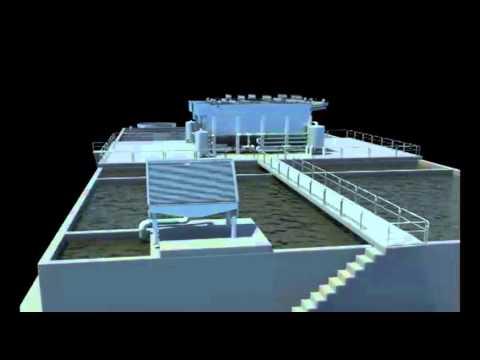 Planta de tratamiento de aguas residuales ptar maqueta - Tratamiento de agua ...