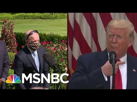 Wearing A Mask Is 'Not Political,' Says Reporter | Morning Joe | MSNBC