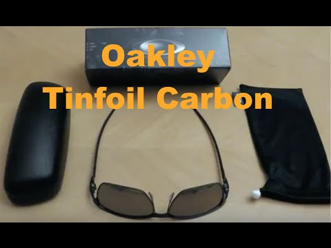 122e170ab9400 Oakley Tinfoil Carbon - YouTube