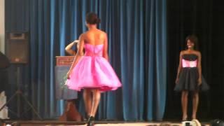 dghs fashion show purple tulip dresses