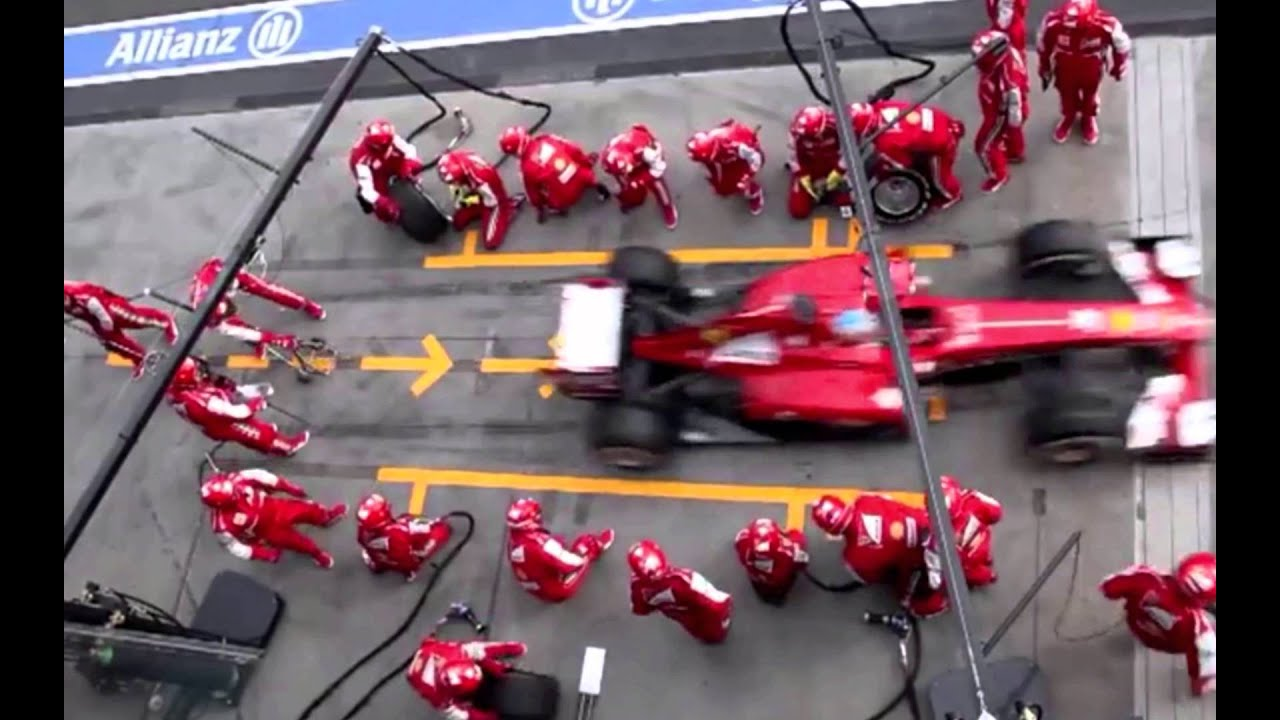 Lean Thinking In Ferrari S Formula 1 Pit Stop Process Youtube
