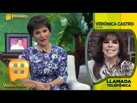 ¡Verónica Castro revela secretos sobre la vida de José José!   Ventaneando