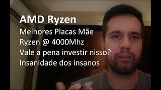 Melhores Placas Mãe para AMD Ryzen