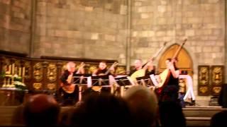 Barcelona 4 Guitars - Concierto Brandenburgo nr.3, J.S. Bach