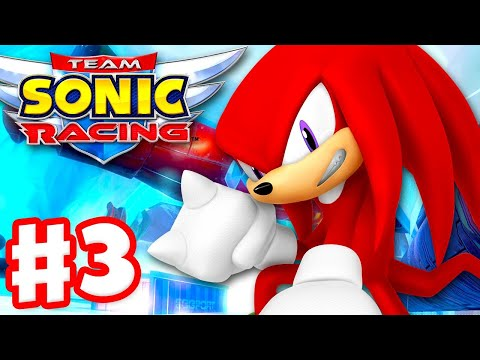 Team Sonic Racing - Gameplay Walkthrough Part 3 - Chapter 3: Guess Whou0027s Back?