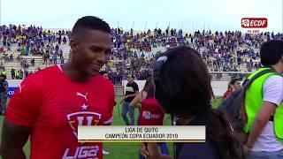 Antonio Valencia Y Su Primer Título Con Lduq - Copa Ecuador