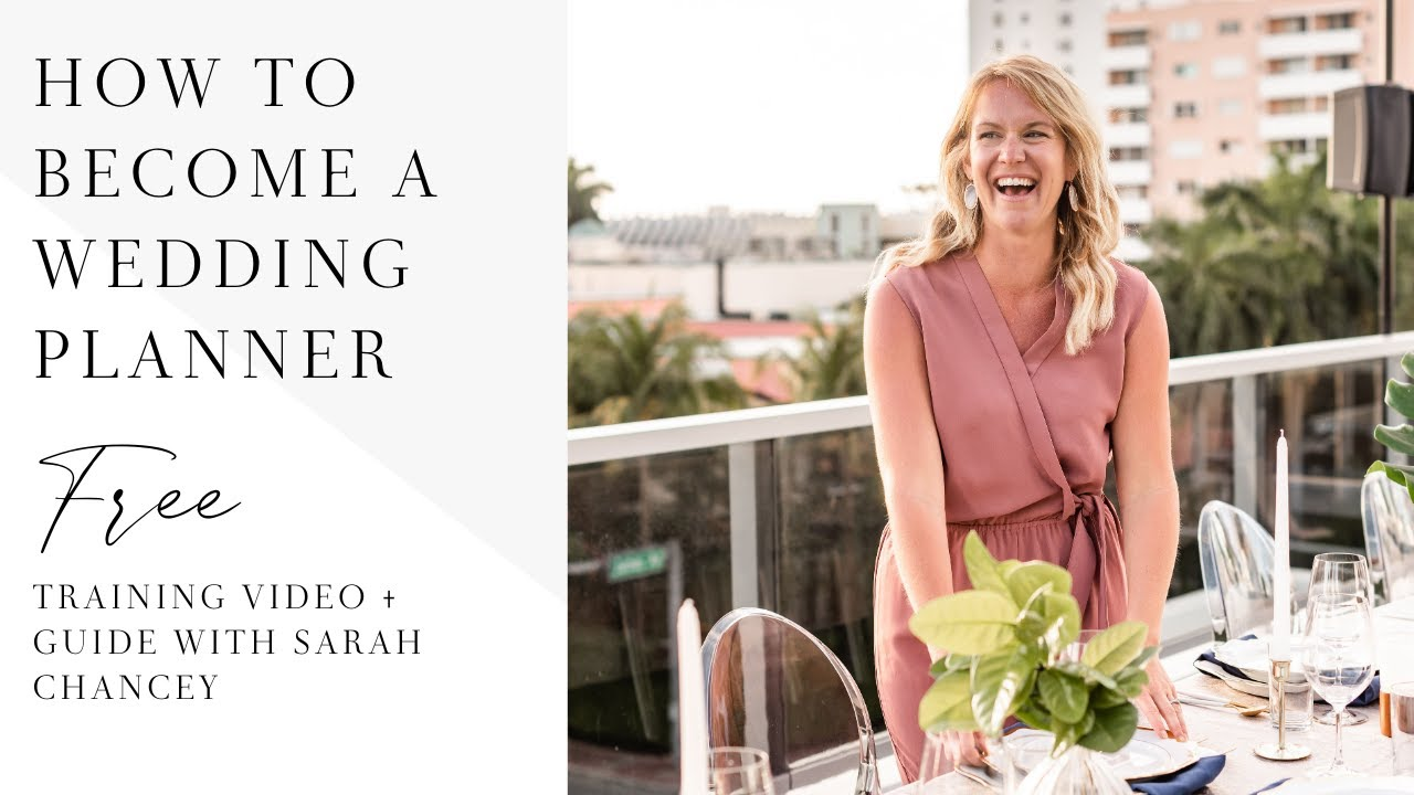 How To Become A Wedding Planner Learn How To Start A Wedding Planner Business That Pays Youtube