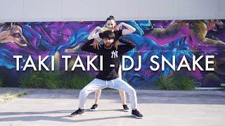 TAKI TAKI - DJ Snake, Cardi B, Selena Gomez Dance Choreography by Randeep Singh @iirandeepsingh