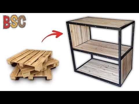 Meuble Métal & Palettes / Metal & Pallets Furniture