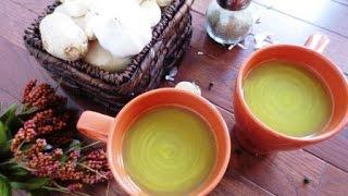 Ginger Garlic Soup/ Golden Soup | Poonam's Kitchen