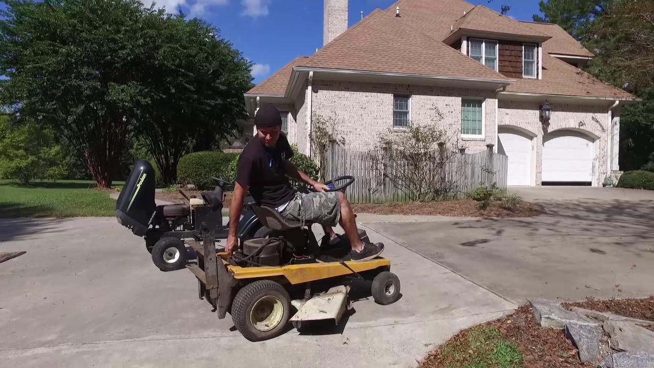 We're Building a Racing Lawn Mower!