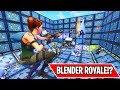 *NEW* BLENDER ROYALE MINI GAME!!! (Fortnite Custom Games)
