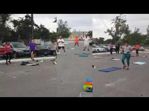 Outdoor Fitness Bahamas - Sat Workout Arawak Cay
