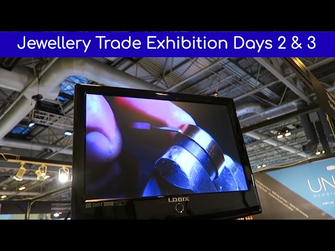 Jewellery Trade Exhibition, Jewellery & Watch Show, Birmingham, Days 2 and 3 - Vlog#27