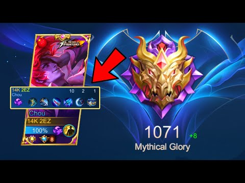 I USED *BLUE BUILD* IN MYTHICAL GLORY 1,000 PTS ( MUST WATCH) - MLBB