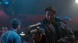 Kyle Reese vs T-800 (Tech-noir) | The Terminator [Open Matte, Remastered]