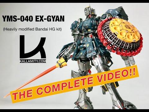 """Download Kallamity """"EX-GYAN"""" from 1/144 """"Gyan"""" Bandai Kit"""