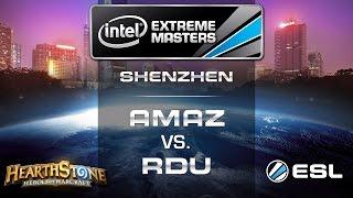 Amaz vs. RDU - Seminals - IEM Shenzhen - Hearthstone