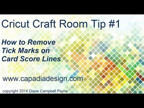 Cricut craft room tip 1 youtube for Cricut craft room download