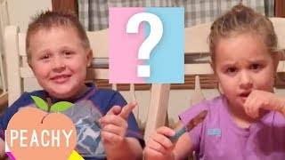 100 Funny Baby Gender Reveals! - Part 2   Cute Family Compilation